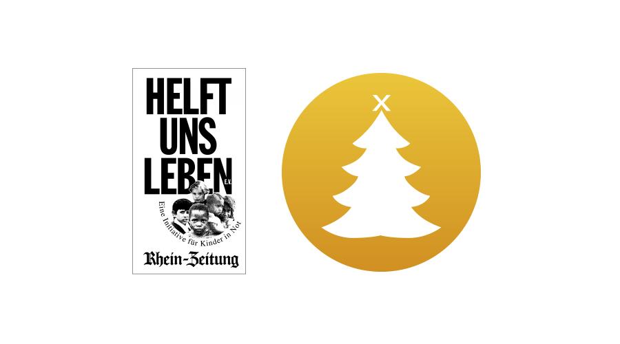 """Alle Spenden gehen an die Organisation """"Helft uns leben"""" der Rhein-Zeitung"""